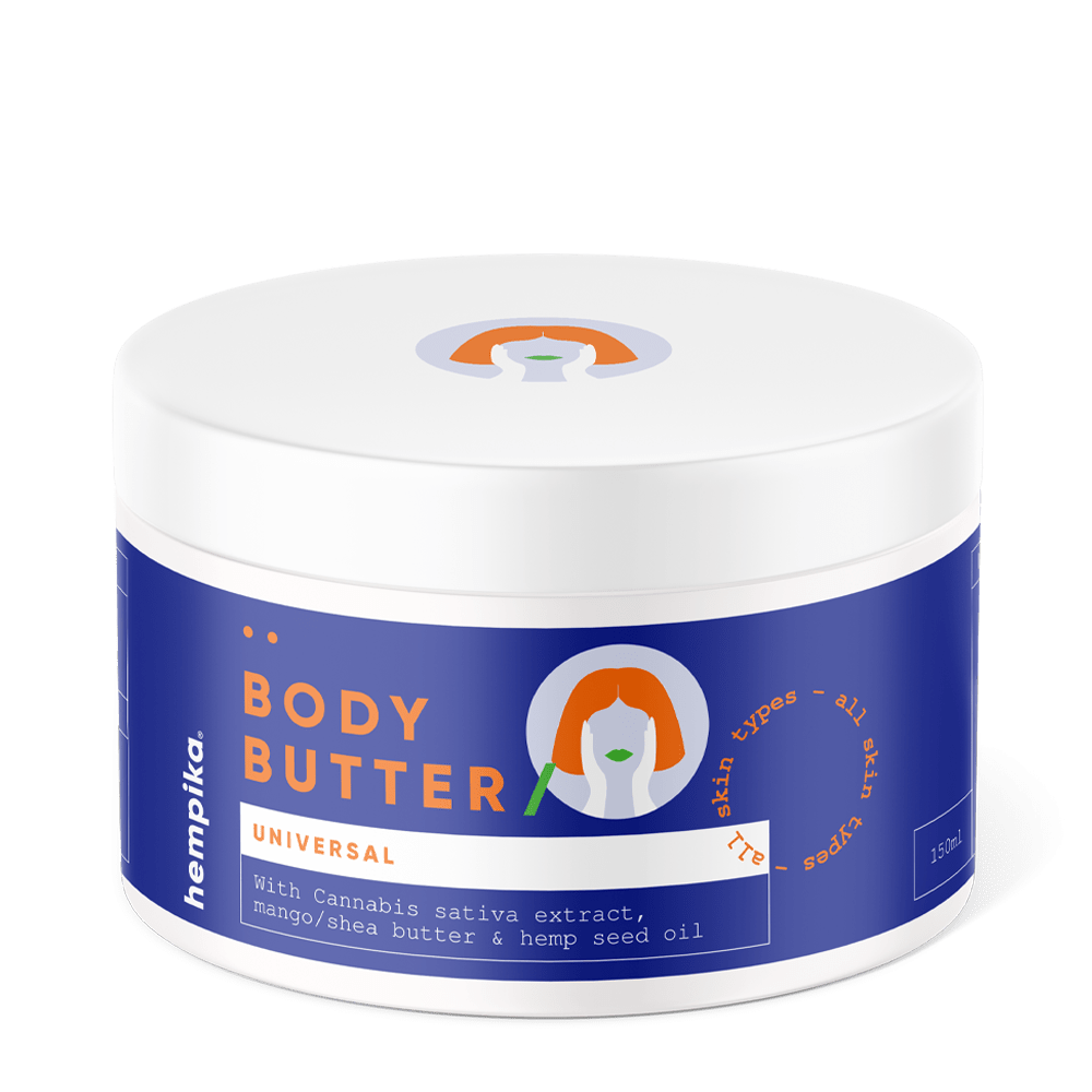 Hempika Body Butter 150ml - 300mg CBD