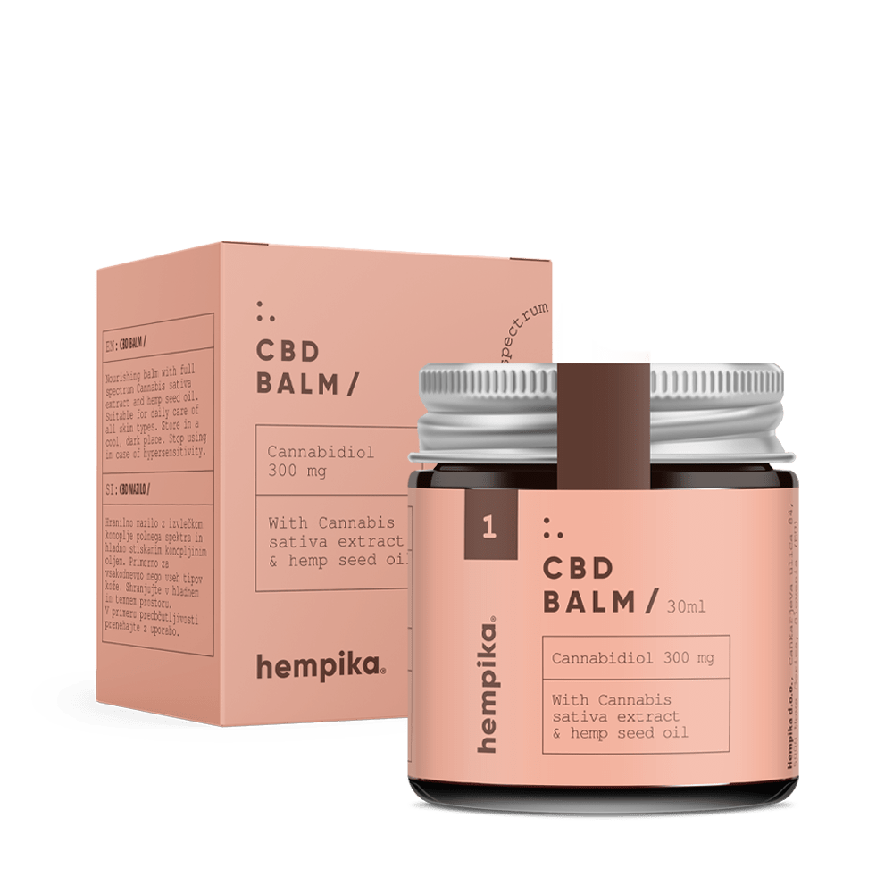 Hempika CBD Balm 30ml - 300mg CBD