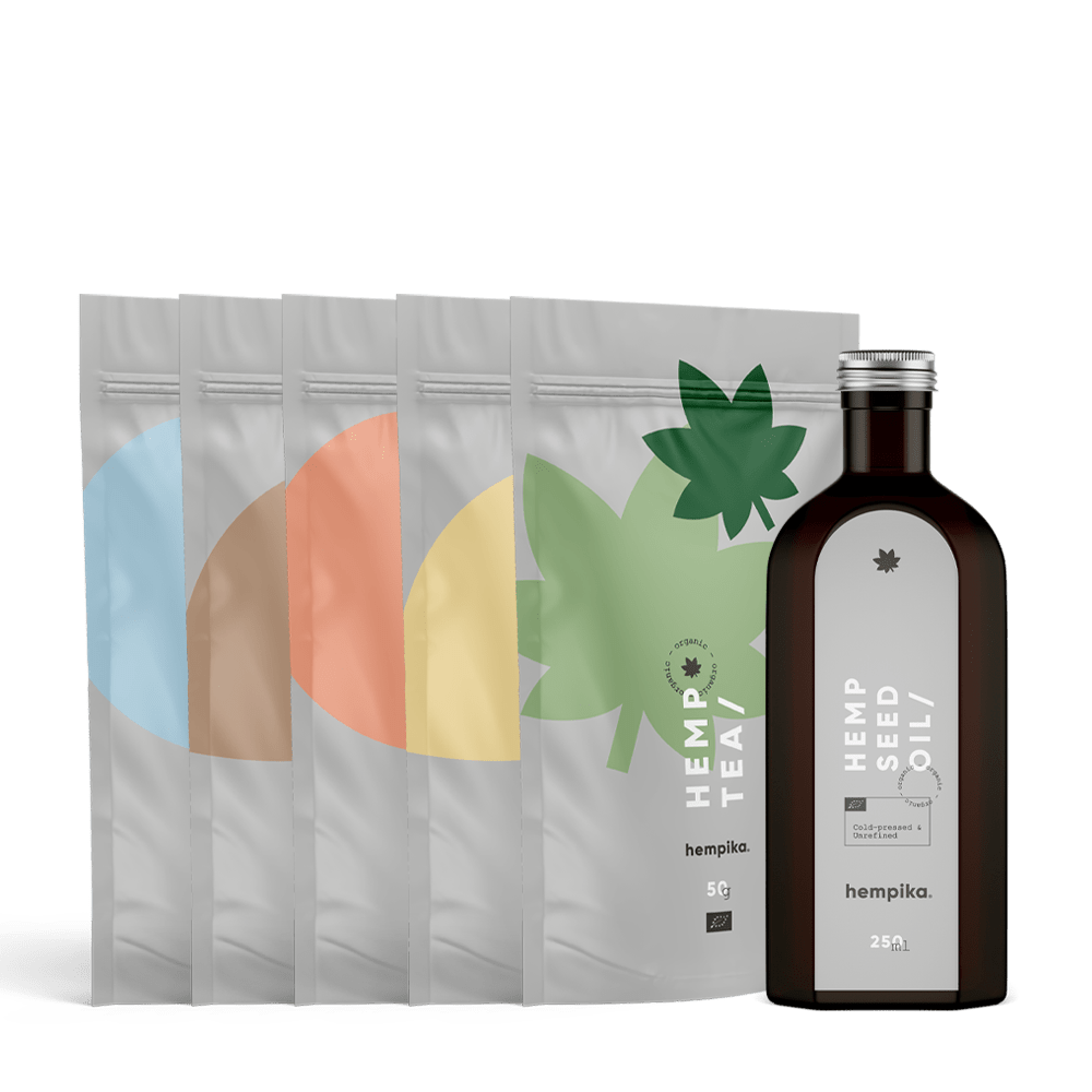 Hempika Hemp Foods Bundle 6v1