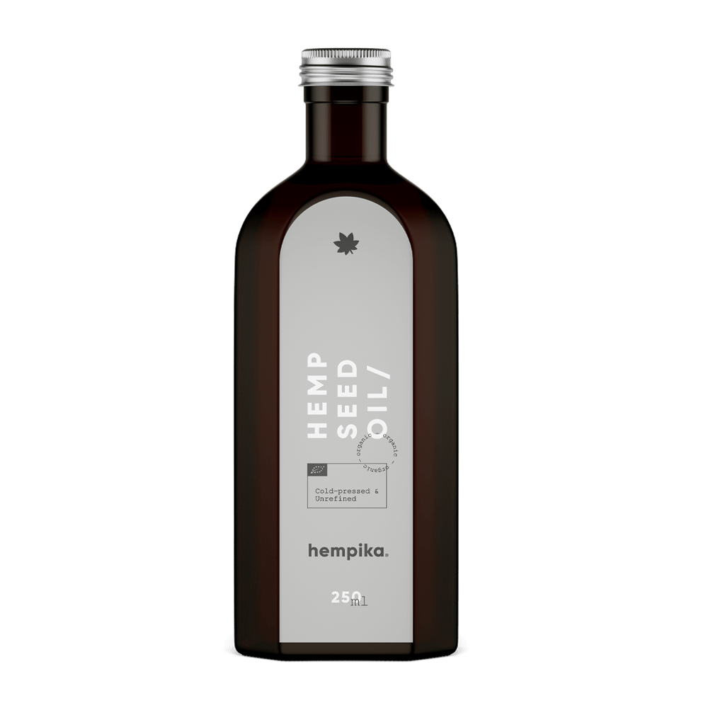 Hempika Hemp Seed Oil 250ml Front